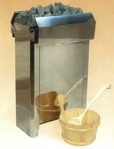 Электрическая печь-каменка напольного исполнения