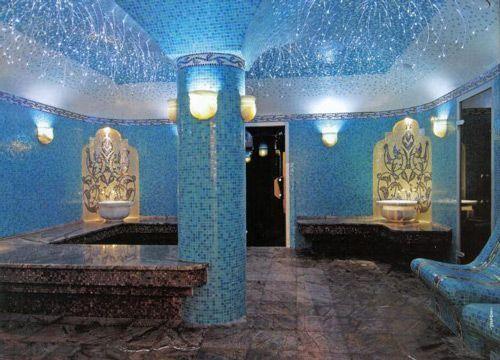 Очень красивая турецкая баня