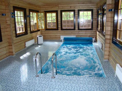 Устройство бассейна в бане