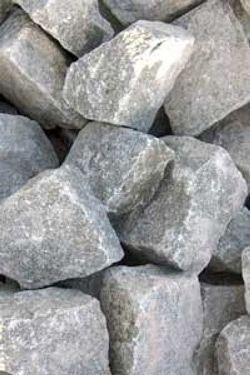 Камни из диабаза, очень хорошо подходят для обкладывания печки