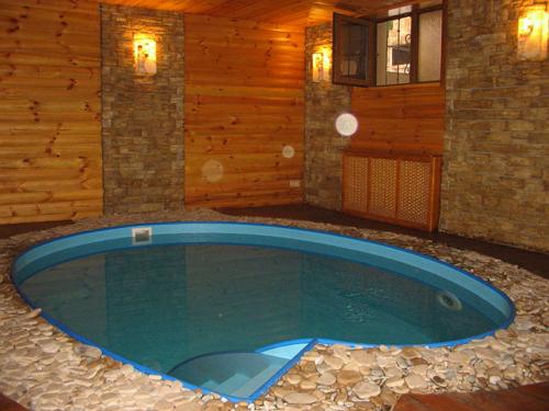 Построить баню с бассейном, это значит приобрести удобство, красоту и оригинальность