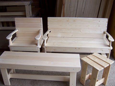Мебель для бани - скамейки, лавки, стулья