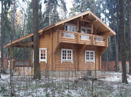 Ещё один проект гостевого дома-бани