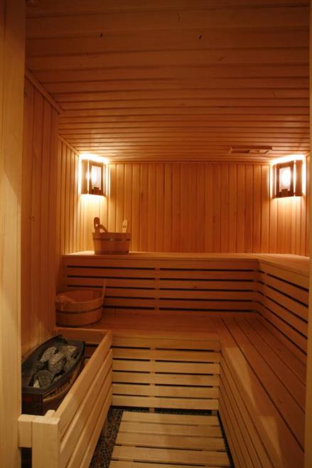 Помещение финской бани