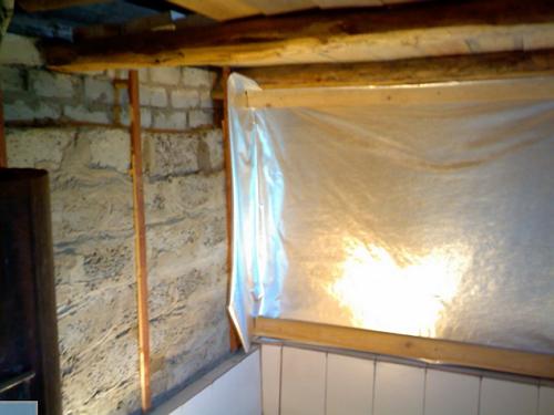 Гидроизоляция стен кирпичной бани