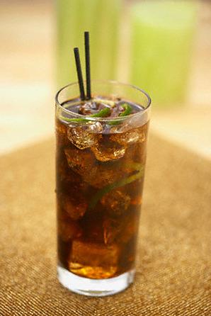 Coca Cola со льдом