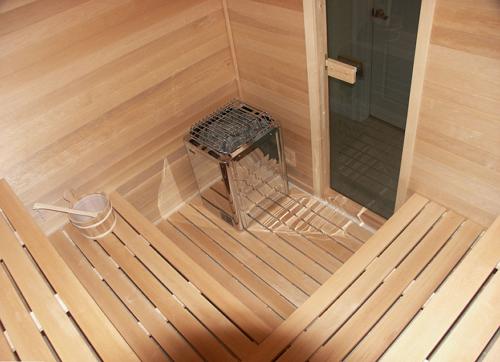 Обшивка внутри бани