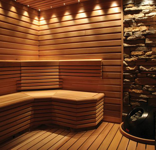 Система освещения в бане