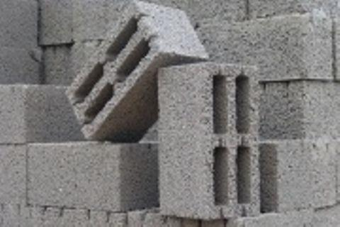 Структура шлакоблока идеальна для строительства бани