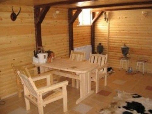 Лаконичная и функциональная обстановка комнаты отдыха