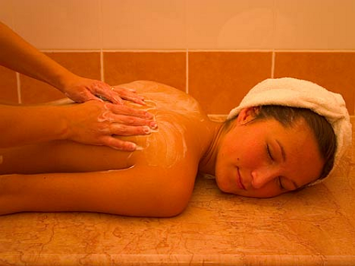Классический турецкий массаж