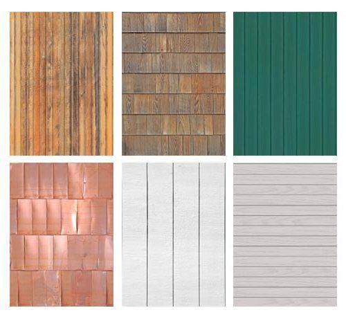 Многообразие цветовых оттенков и фактуры сайдинга