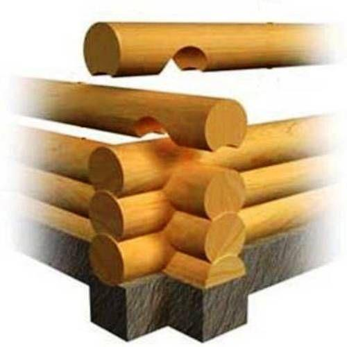 Схема строительства бревенчатого сруба