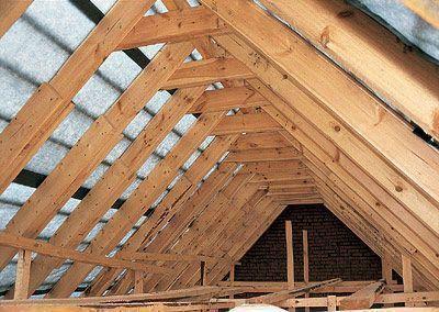 Стропельная ферма крыши