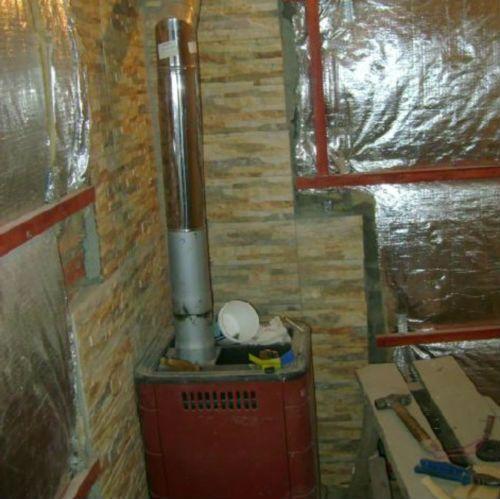 Утепление и гидроизоляция бани