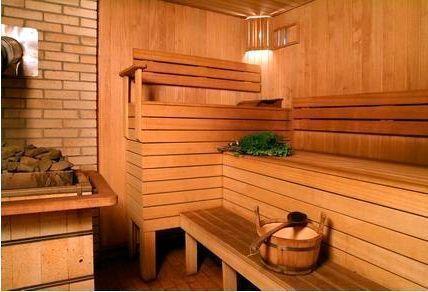 Внутренняя отделка бани деревянной вагонкой – красиво и эстетично