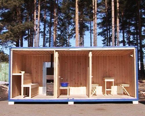 Классическая баня с тремя помещениями