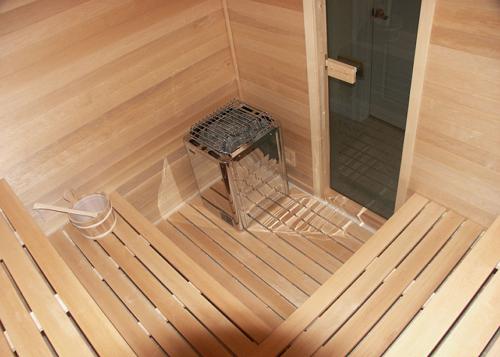 b Как сделать /b деревянный пол в бане.