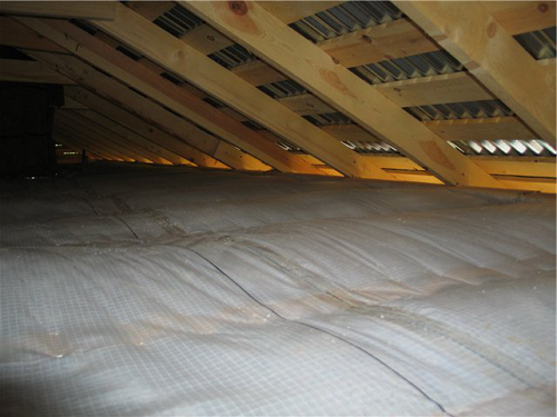 Пароизоляция крыши в бане