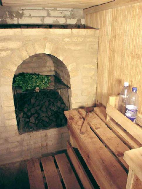 Печь в русской бане