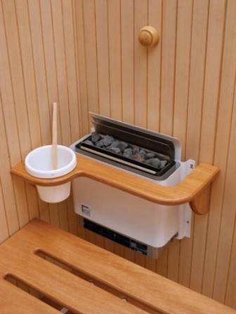 Сауна с электрической печью