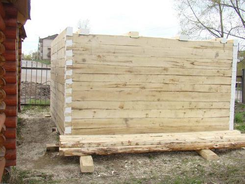 Строительство бани из осины тоже как неплохой вариант