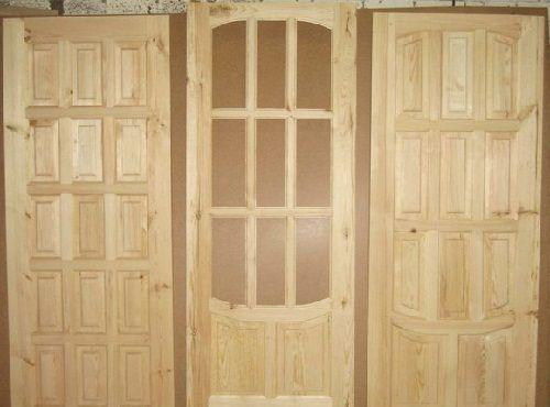 Разновидности деревянных дверей для бани