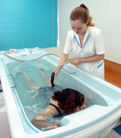 Гидромассаж всего тела очень полезная процедура