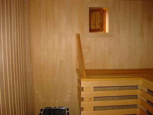 Внутренняя обработка бани