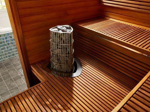 Электрическая каменка для бани