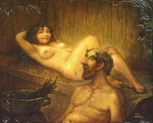 Любитель бань эротике