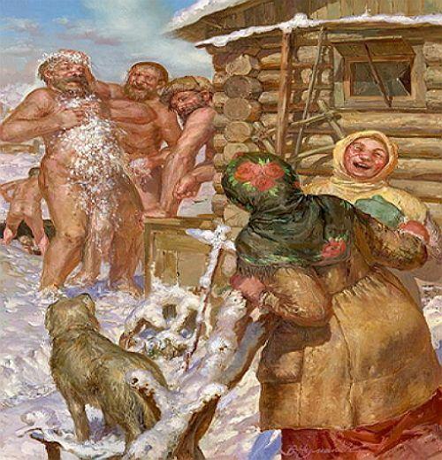 История новгородских бань