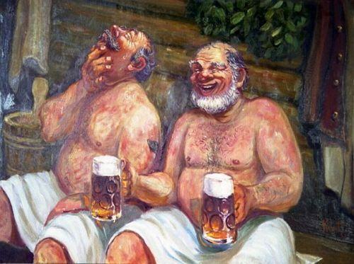 Пиво в бане - польза или вред