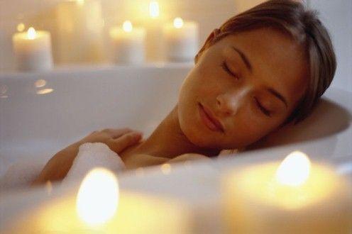 В бане можно отлично расслабиться