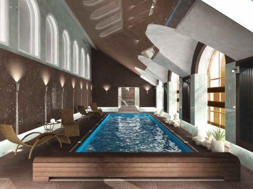 Так выглядит современная колумбийская баня