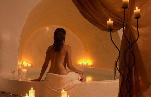 В комнате для массажа можно отлично расслабится