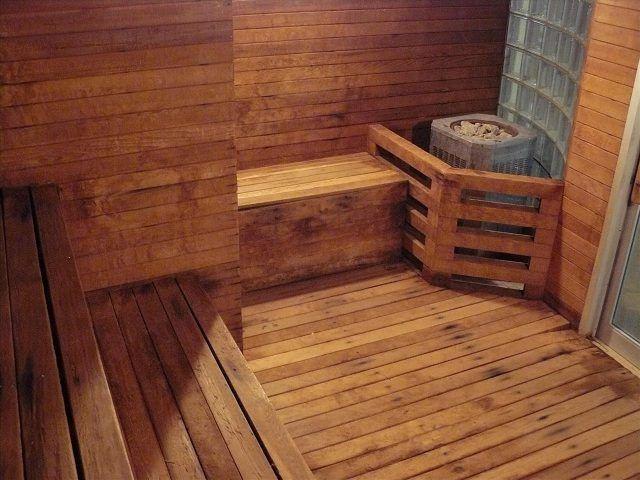 протекающий пол в бане