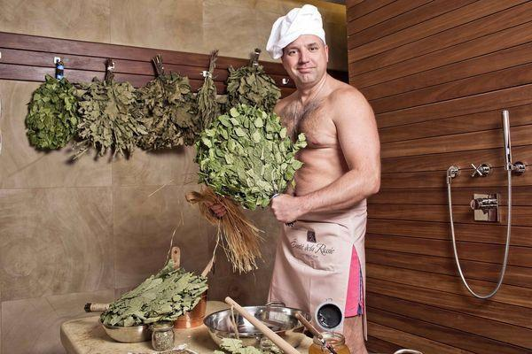 Подготовка к бане
