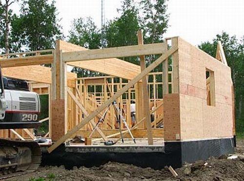 Строительство бани из клеенного бруса: преимущества и особенности