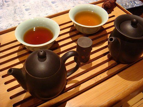 Бодрящий эффект чая пуэр