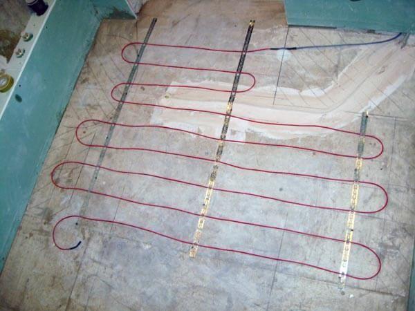 Как правильно выбрать нагревательный кабель под плитку?