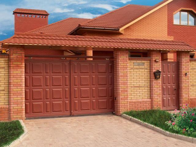 Где заказать надежные гаражные распашные ворота